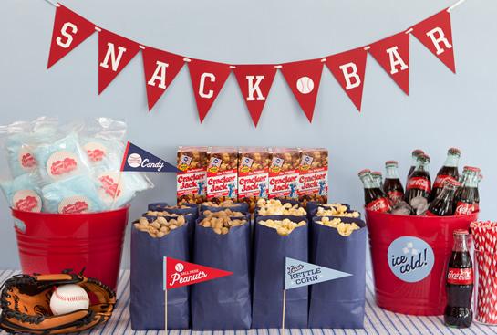Baseball Birthday Party Inspiration Love of Family & Home